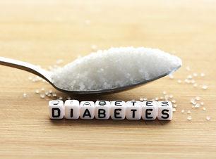 Diabetes block letters in crossword and