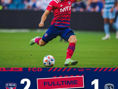 FC Dallas Earn First Win on the Road