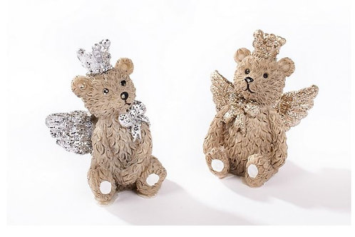 Angel Bear   Christmas Memory Angel Wings Bear