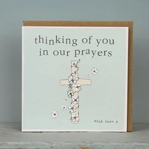 Remembrance Cards - Thinking of You in our Prayers