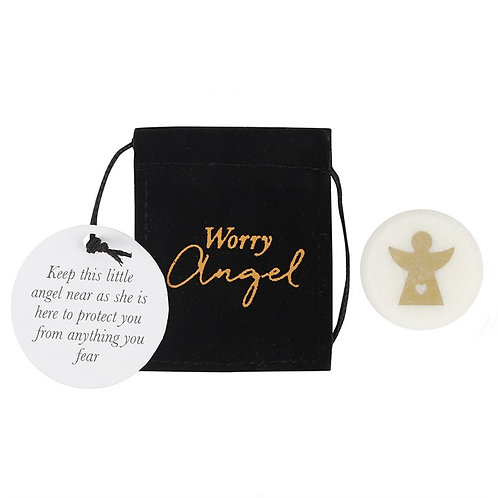 Worry Angel Stones | Angel Lucky Charm / Angel Keepsake