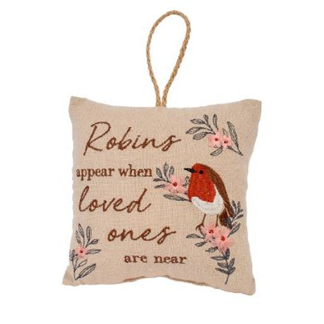 Robin Cushion / Robins appear when loved ones are near.