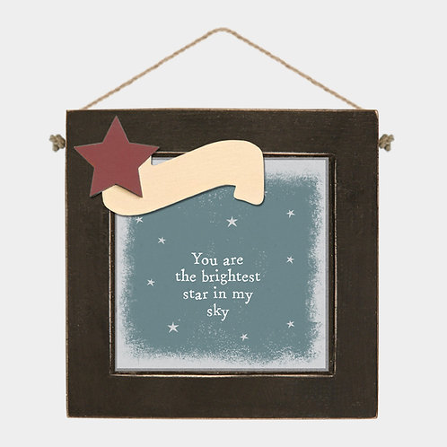 East of India Brightest Star Picture Frame | Personalised