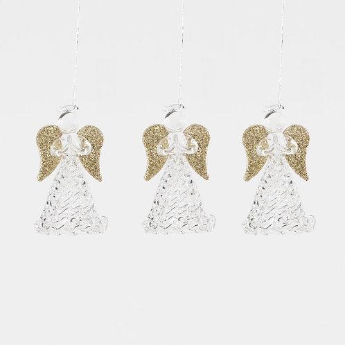 Angel Hanging Decorations - Set of 3