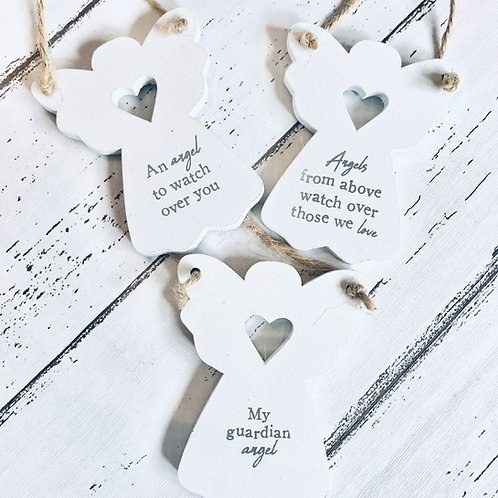 Angels & Heart Message Mini Signs