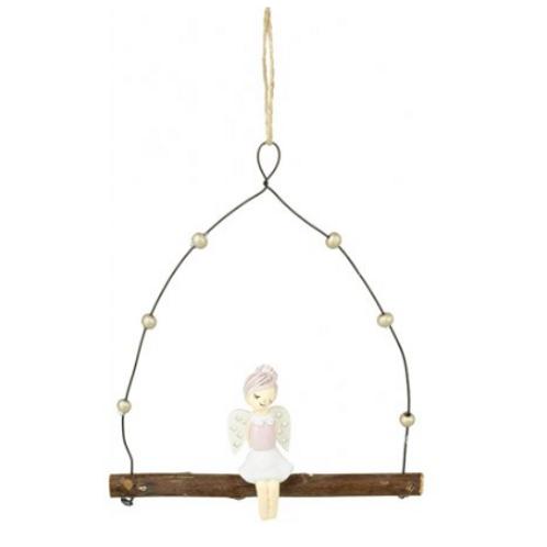 Sitting Angel on Hanging Branch