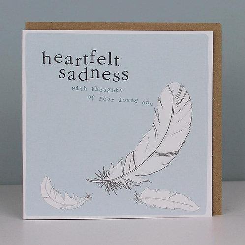 Remembrance Cards - Heartfelt Sadness