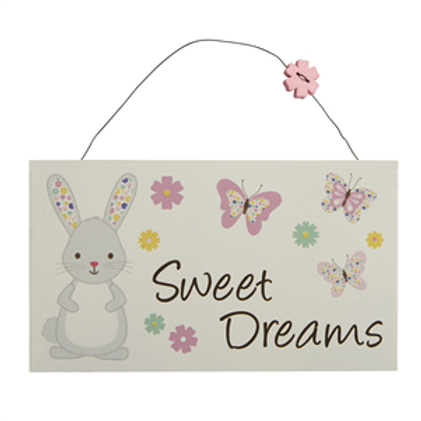 Sweet Dreams Bunny Sign