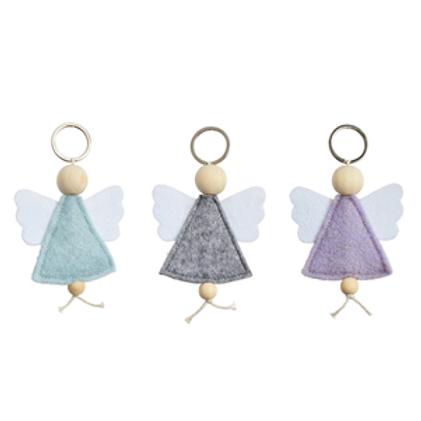 Angel Keyring / Felt Angel Keyring
