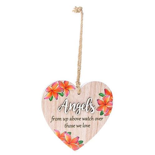 Hanging Heart - Angels