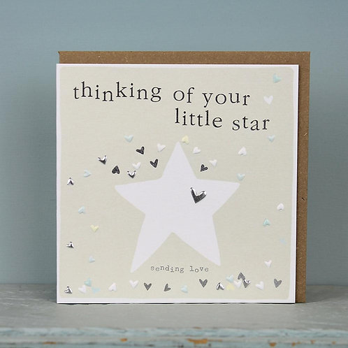 Remembrance Cards - Thinking of your Little Star