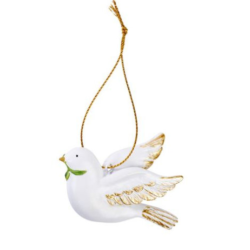 White Dove Christmas Decoration