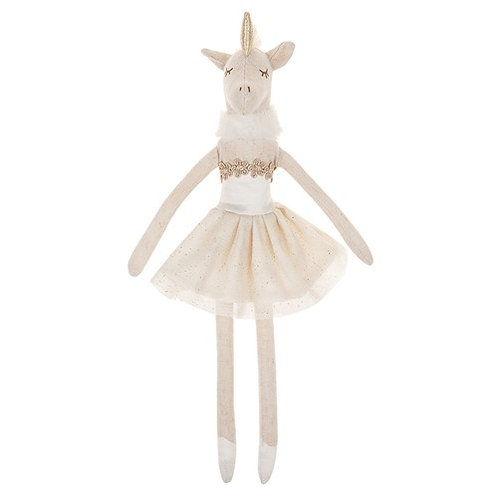 Rag Doll Ballerina Unicorn from The Doodles Rags Collection