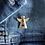 Thumbnail: Angel Pin Badge   Gold Tone Angel Badge