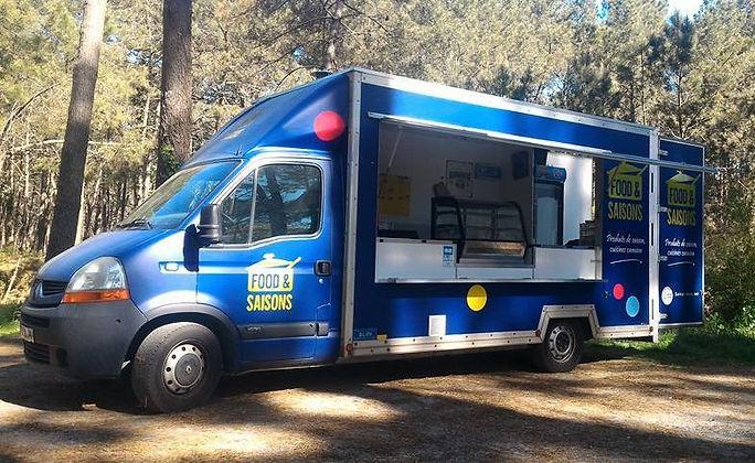 Food Truck de qualité, produits de saison