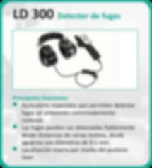LD 300 DETECTOR DE FUGAS