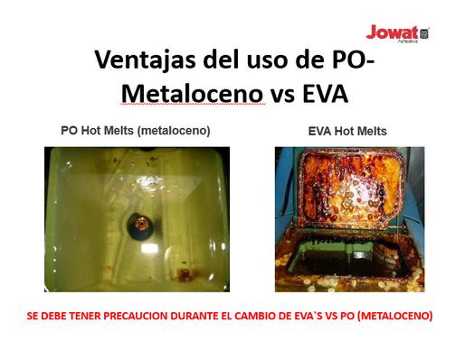 VENTAJAS DEL USO DE PO-METALOCENO VS EVA