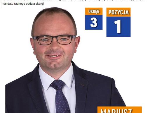 Mariusz Grabowski, radny z Rąbienia, wyrok WSA