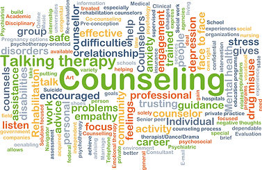 Counselling, therapy, problems, empathy, support, anxiety, stress, engaging, focus, depression, individual