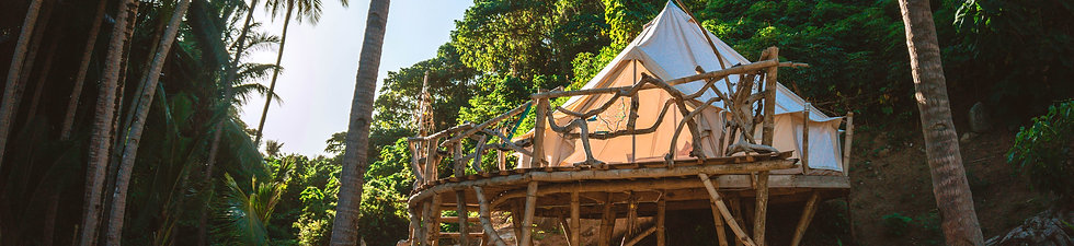 Glamping Tent + Cause