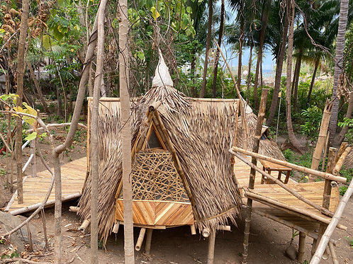 Tipi Pod: Monthly Stay & Meals