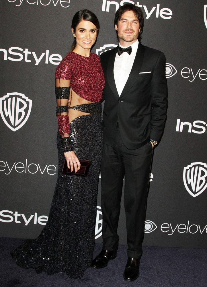 Nikki Reed + Ian Somerhalder