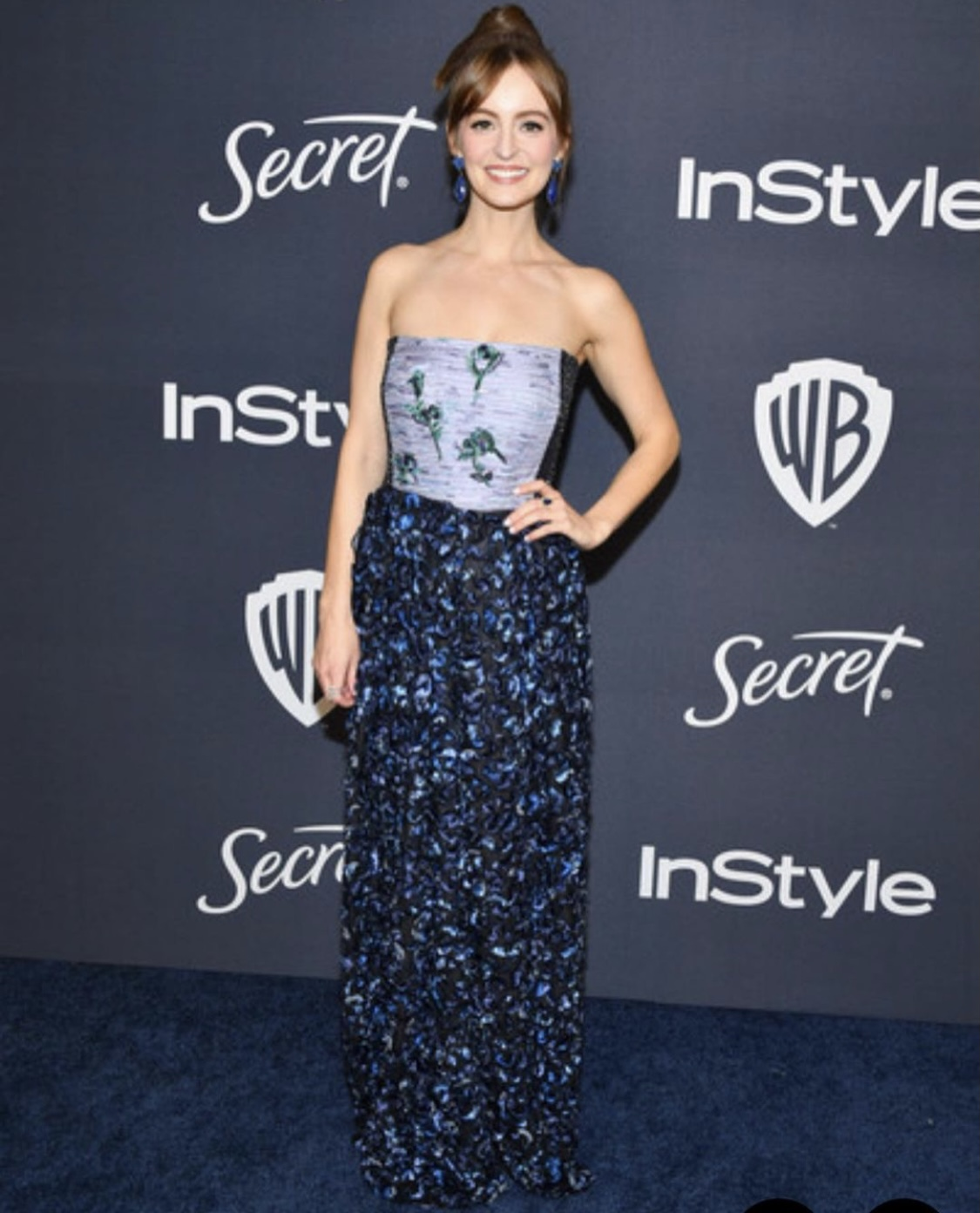 Ahna O'Reilly - InStyle Golden Globes