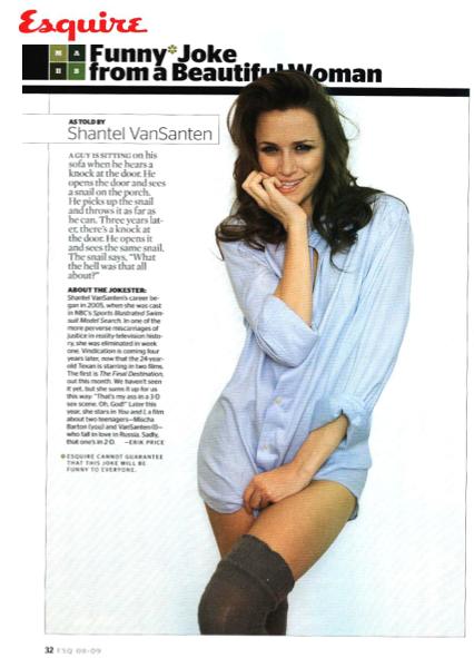 Shantel VanSanten - Esquire