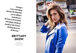 Brittany Snow - LADYGUNN