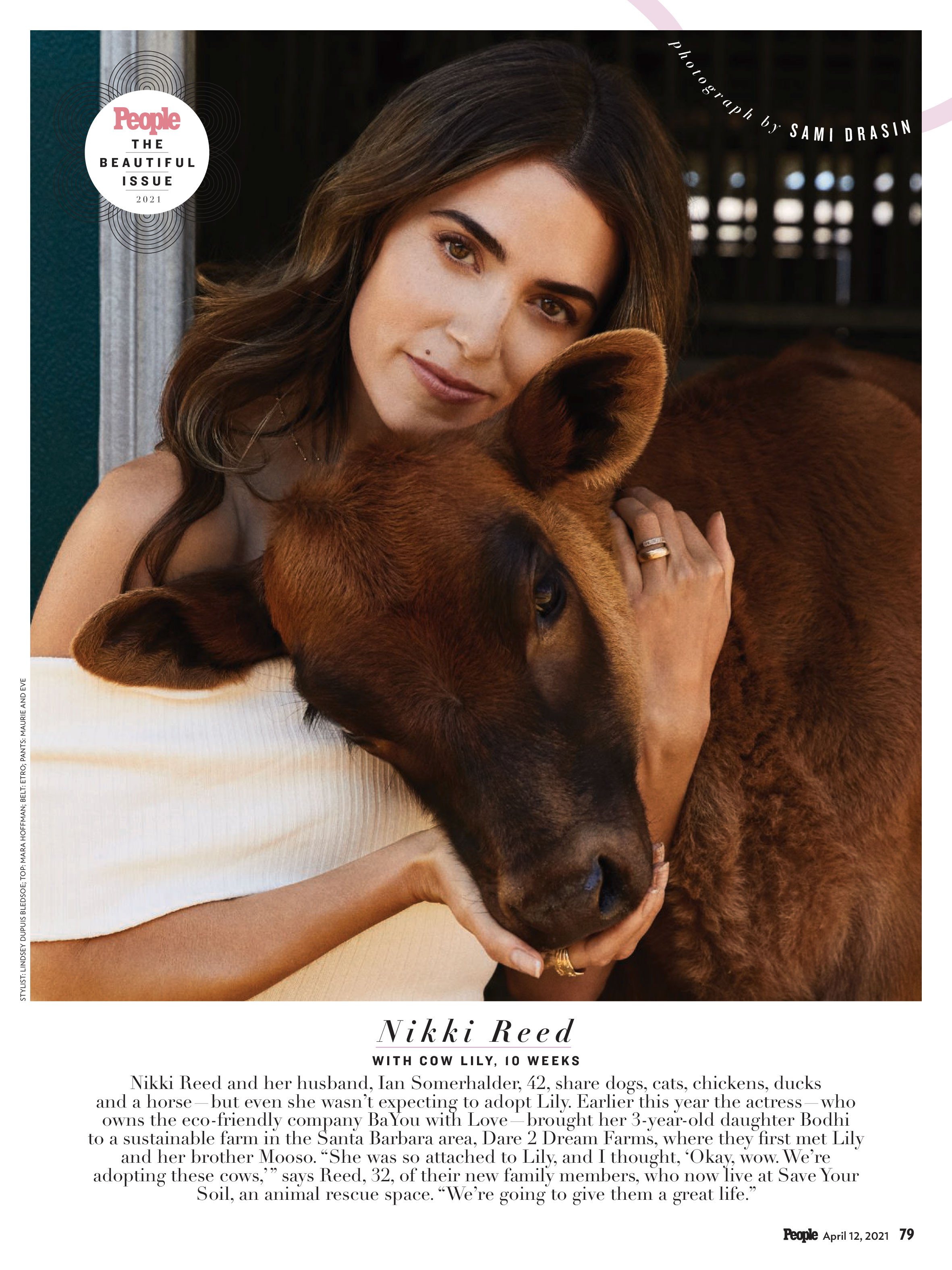 People Magazine Beautiful Issue 2020 - Nikki