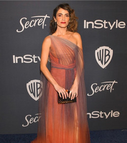 Nikki Reed - InStyle Golden Globes
