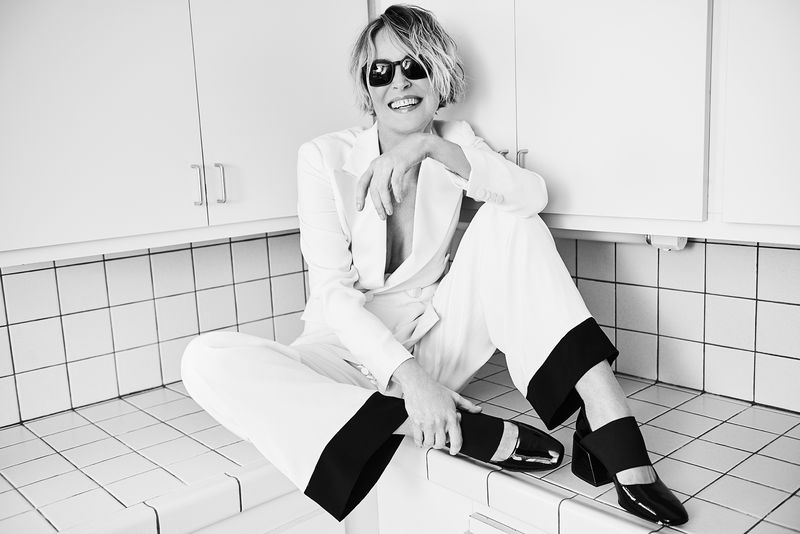 Sharon Stone - Madame Figaro 2017