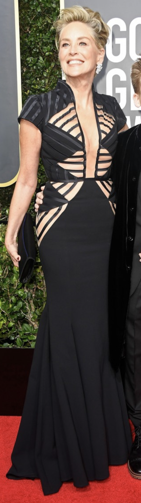 Sharon Stone - Golden Globes 2018