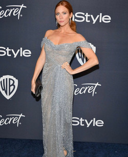 Brittany Snow - InStyle Golden Globes