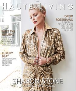 Sharon Stone - Haute Living 2017