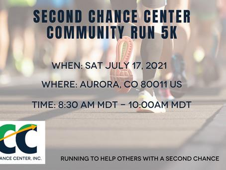 Second Chance Center Community 5K Run