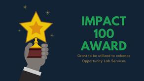 Press Release: Second Chance Center Wins Impact 100 Award