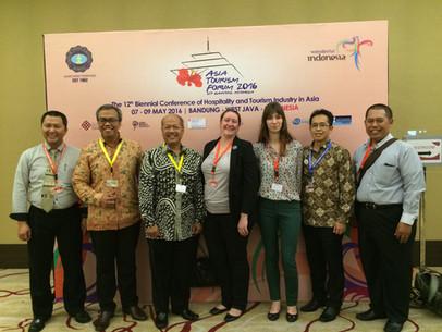 Asia Tourism Forum 2016 at Bandung, Indonesia