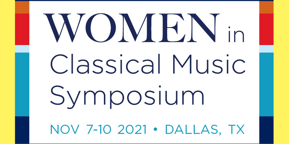 Dallas Symphony: Women in Classical Music Symposium