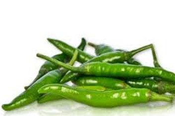 Spicy Green chili (तिखट हिरवी मिरची) 250 gm