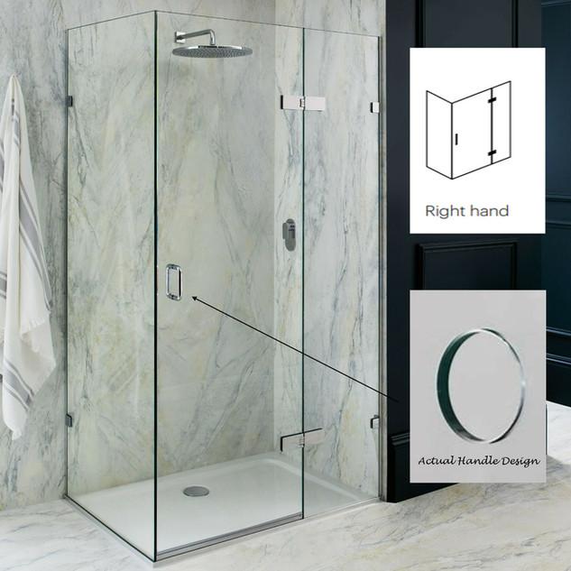 Majestic Portofino 1200mm x 900mm Shower Enclosure