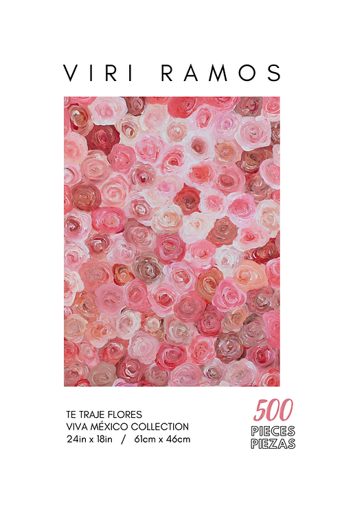 Te Traje Flores- 500 Pieces