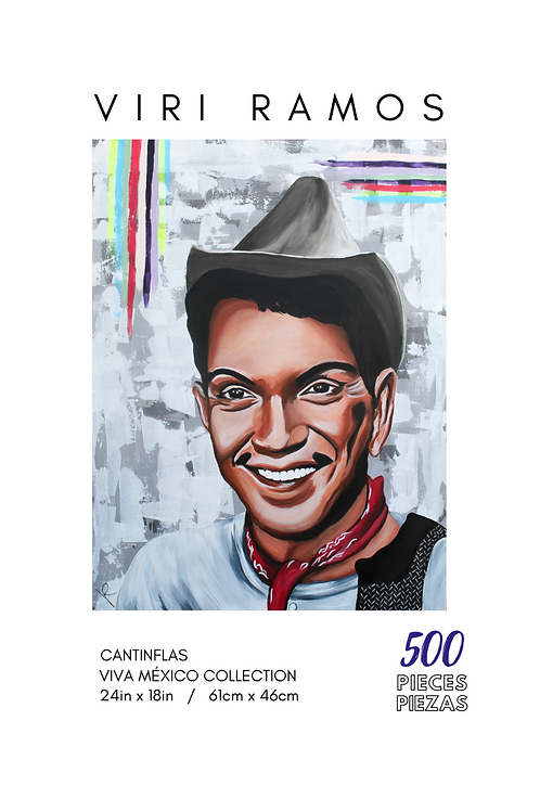 Cantinflas- 500 Pieces