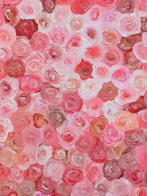 Te Traje Flores Print