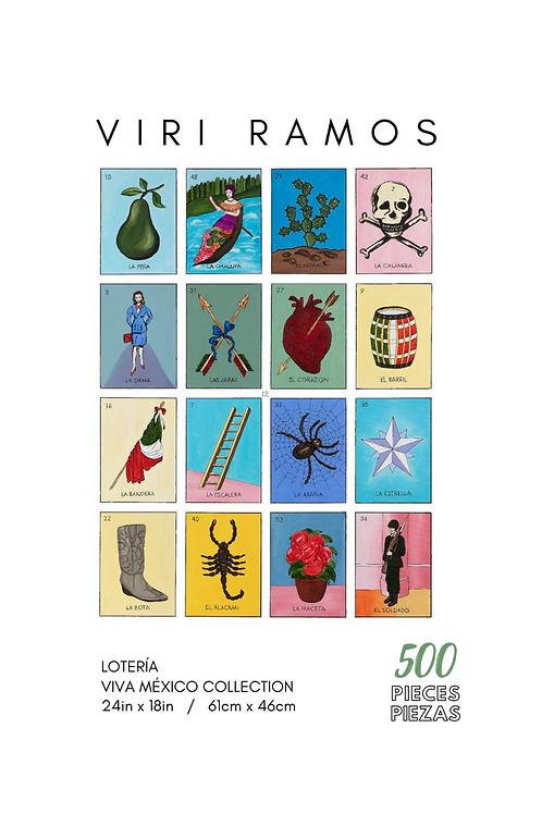 Lotería- 500 Pieces