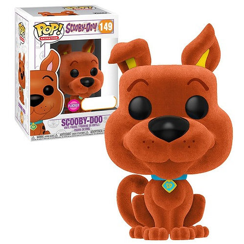 Scooby Doo (Flocked, Orange) - Funko Pop Vinyl