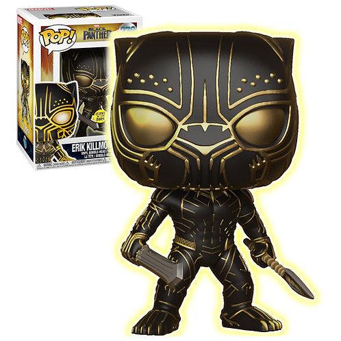 Erik Killmonger Glow in the Dark Black Panther Funko Pop! Vinyl Marvel