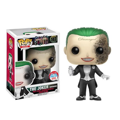 The Joker (Grenade) NYCC - Suicide Squad , Funko Pop! Vinyl