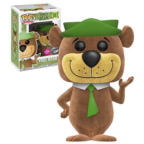 Yogi Bear Flocked Hanna Barbera Funko Pop! Vinyl Animation