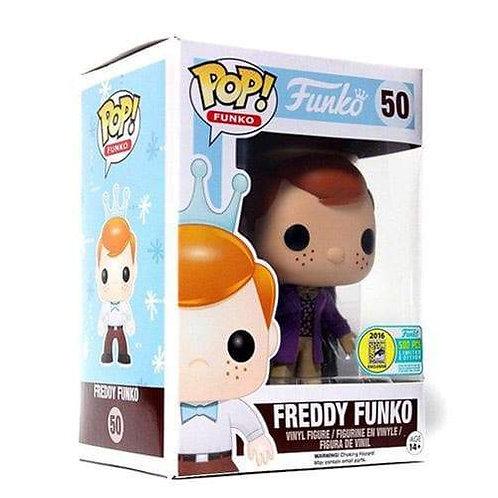 Freddy Funko (as Willy Wonka) -Funko Pop! Vinyl